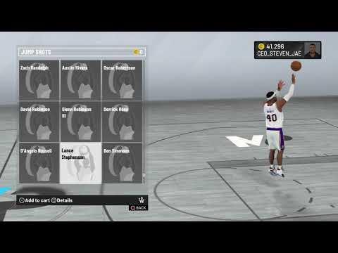 NBA 2K20 Lance Stephenson Jump Shot