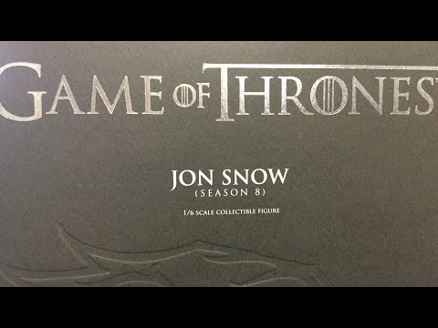 Game Of Thrones Jon Snow 1:6 Scale Figure By Threezero Unboxing And Review