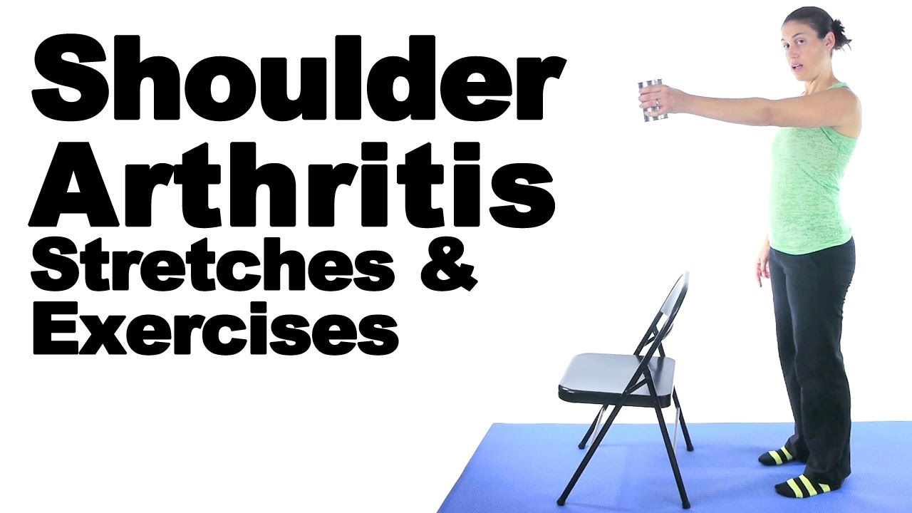 Shoulder Arthritis Stretches Exercises Ask Doctor Jo Youtube