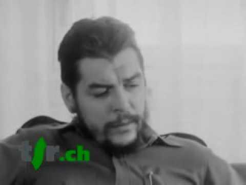 Avril 1964 - Interview en francais d'Ernesto CHE GUEVARA