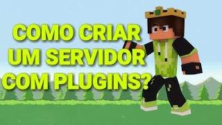 Gambar cover Como Criar um Servidor Para Minecraft PE com Plugins Permanente !