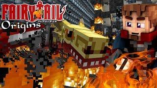 FIRE DRAGONS WRATH! - Minecraft FAIRY TAIL ORIGINS #29 (Modded Minecraft Roleplay)