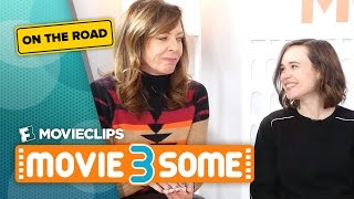 Sundance Special with Allison Janney & Ellen Page: Movie3Some On The Road