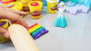Принцесса Диснея и платье из радуги. Развлекающие и развивающие видео обзоры детских игрушек