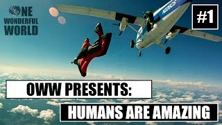 Humans Are Amazing Series Wingsuit Edition 1