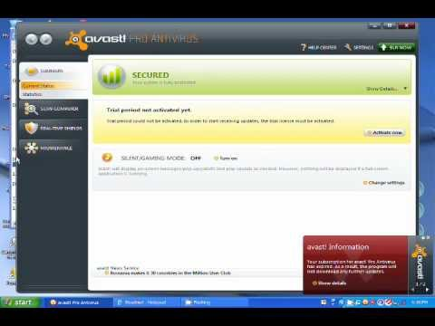key avast internet security 5.0.677