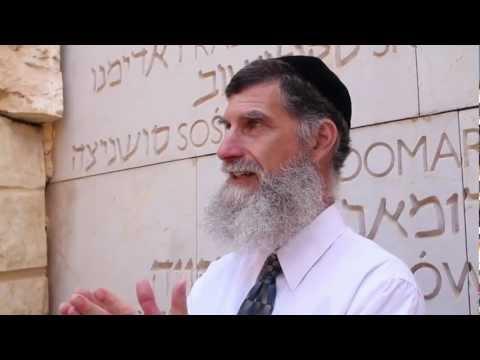 Hanoch Teller Tour of Yad Vashem