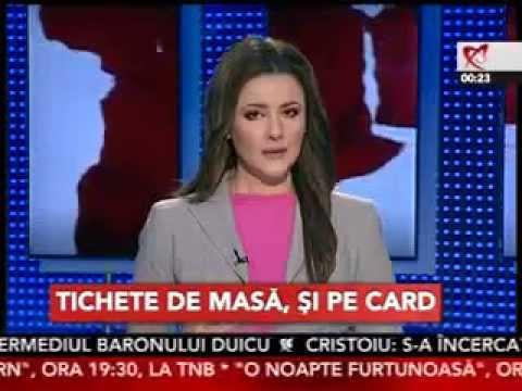 Codruta Pisa CFO Sodexo Romania - aparitia tichetelor de masa pe card