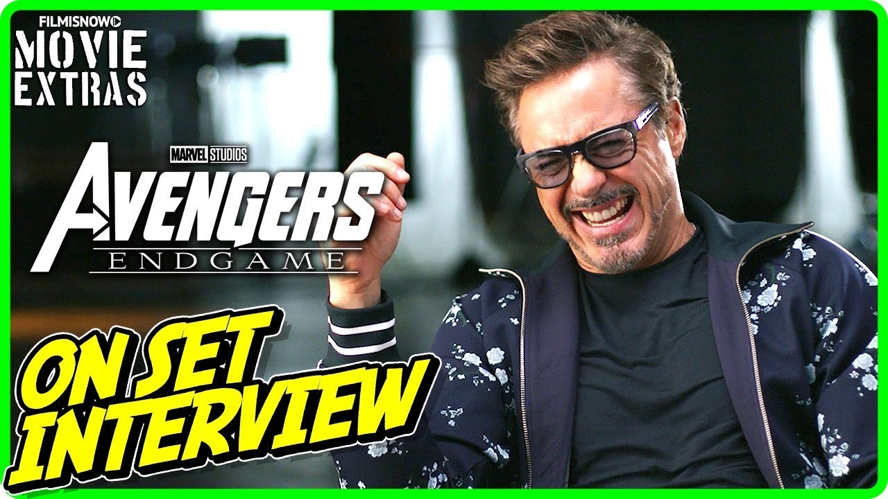 AVENGERS: ENDGAME | On-set Interview with Robert Downey Jr.