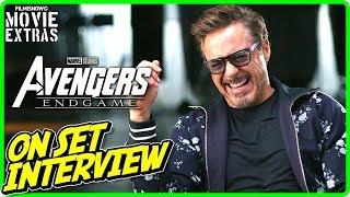 "AVENGERS: ENDGAME   On-set Interview with Robert Downey Jr. ""Tony Stark / Iron Man"""