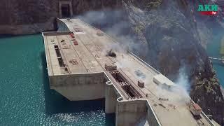 Группа террористов была обезврежена на Токтогульской ГЭС. Учения «Токтогул - 2018»