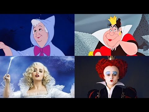 Disney Doppelgängers: Fairy Godmother & Queen of Hearts