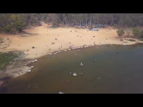 Talakadu River Bank Drone View