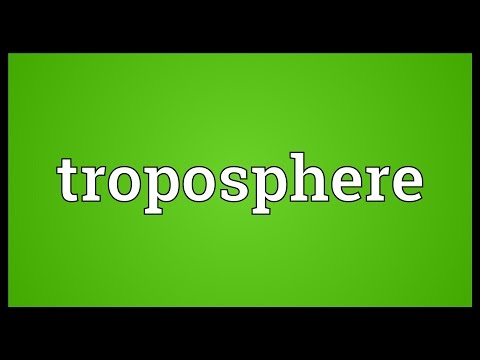Troposphere Meaning