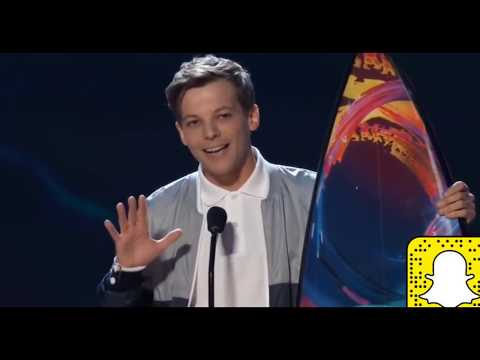 Louis Tomlinson TEEN CHOICE AWARDS 2018 Best Male Artıst Awarded