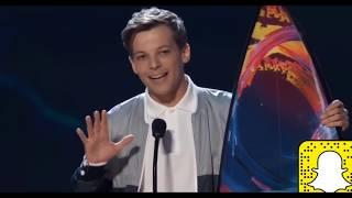 Louis Tomlinson TEEN CHOICE AWARDS 2018 Best Male Artıst Awarded