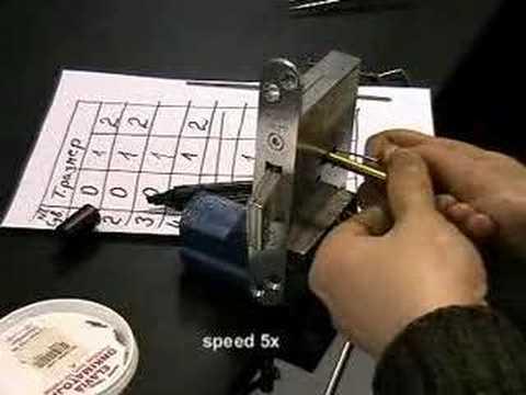 Взлом двери без повреждений (отмычки) ABLOY SL900 Pick lock of Abloy SL900. The Buyer is cheated -3