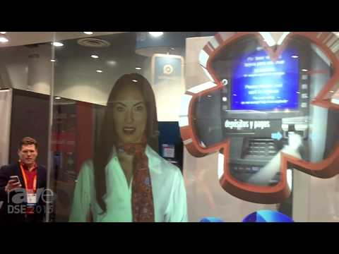 DSE 2015: 4D Retail Technology Demos Interactive V-Wall With Rear Projection