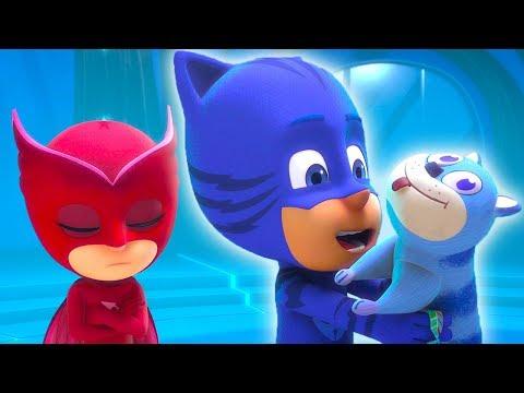 PJ Masks Español Latino El peluche de Catboy Temporada 1 😸   1 HORA   Dibujos Animados