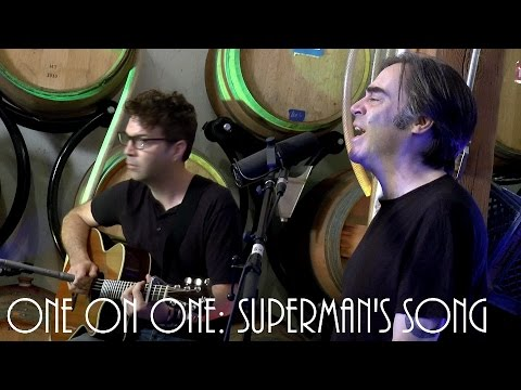 ONE ON ONE: Brad Roberts of Crash Test Dummies - Superman's Song 8/12/16 City Winery New York