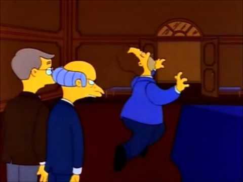"Homer ""I Got The Job"""
