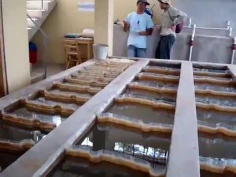 Flocculation tank at Cuatro Comunidades