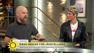 """Bard svarar på kritiken: """"Fått en störtflod av kvinnors reaktioner"""" - Nyhetsmorgon (TV4)"""