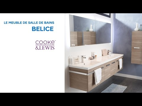 meuble de salle de bains belice cooke lewis 648739 castorama. Black Bedroom Furniture Sets. Home Design Ideas