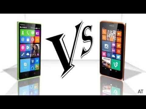 Nokia X2 Vs Nokia Lumia 630