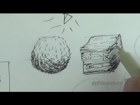Drawing with Pen & Ink Part 1 with Alphonso Dunn - Strathmore 2015 Online Workshops