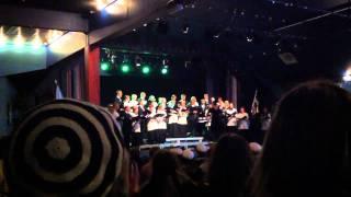 a boy and a girl eric whitacre chorus lin