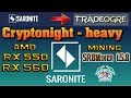 "💥 RX 550/560 Mining AMD - ""Cryptonight-heavy"" (XRN)"" Saronite"" 💥"