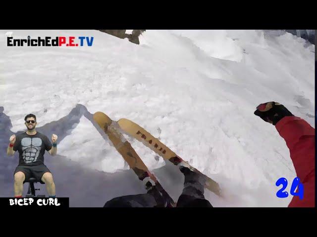 Digital A.P.E.: SEATED! S2E3 Adventure - Downhill Ski