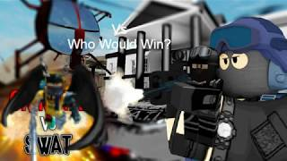 The Criminal God Vs SWAT Roblox Criminal Vs SWAT