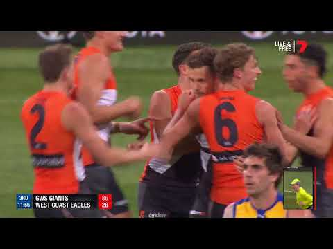 Highlights: GWS Giants v West Coast Eagles