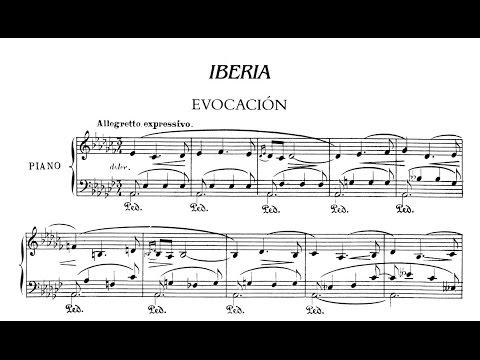 Isaac Albéniz: Suite Iberia 19061909