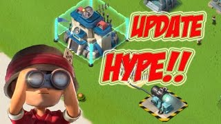 UPDATE HYPE | Boom Beach | HQ 21, SHOCK MINE, SHIELD GENERATOR!