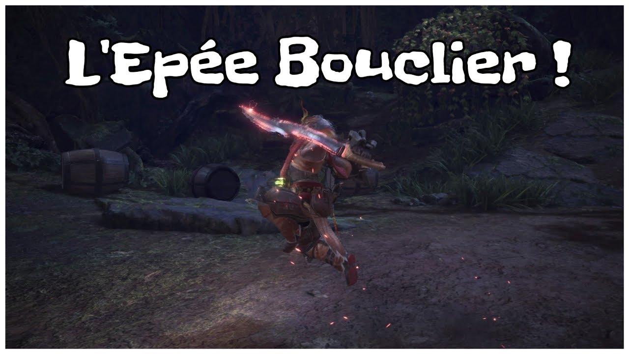 MHW PS4 - Tuto Epée Bouclier (Sword and Shield)