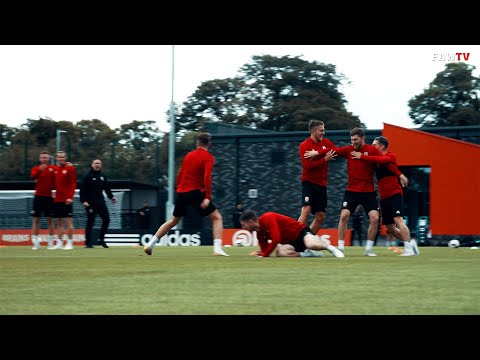 Wales Training - Behind the Scenes