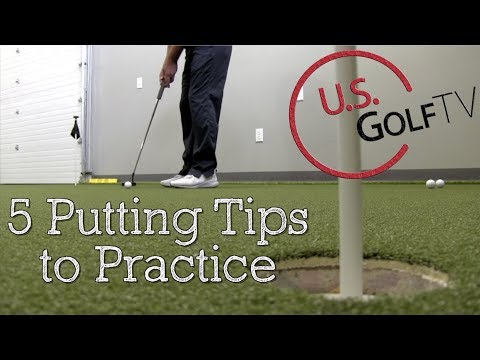 5 Putting Drills You Can Practice Anywhere (Golf Putting Tips)