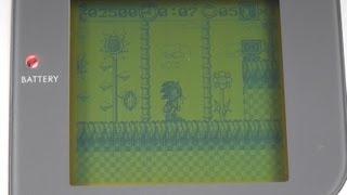 Sonic On An Original Nintendo Game Boy!? Another Bootleg Game - Sonic 3D Blast 5