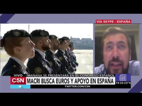 C5N - Mundo: Macri busca euros y apoyo en España