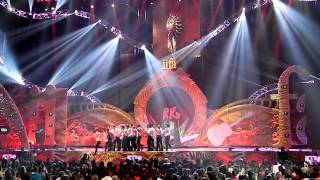 iifa 2012 rishi and ranbir kapoor performance with pyro