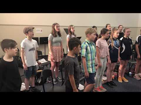 Luminescence Children's Choir Rehearsal: Just One Star (Ben Van-Tienen)