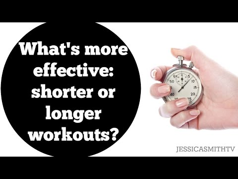What's more effective shorter, more frequent workouts or one long workout?
