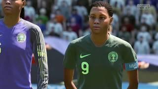 Coupe Du Monde Féminine 2019 8e De Finale Allemagne VS Nigeria 22 Juin 2019 Sur Fifa 19