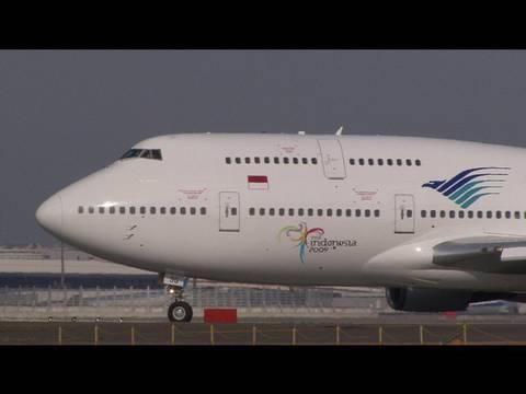 Garuda Indonesia Boeing 747-400 @ Narita 【PK-GSG】