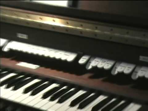 1972 Allen digital computer organ playing demonstration
