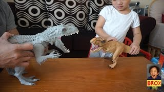 indominus rex vs trex jurassic world