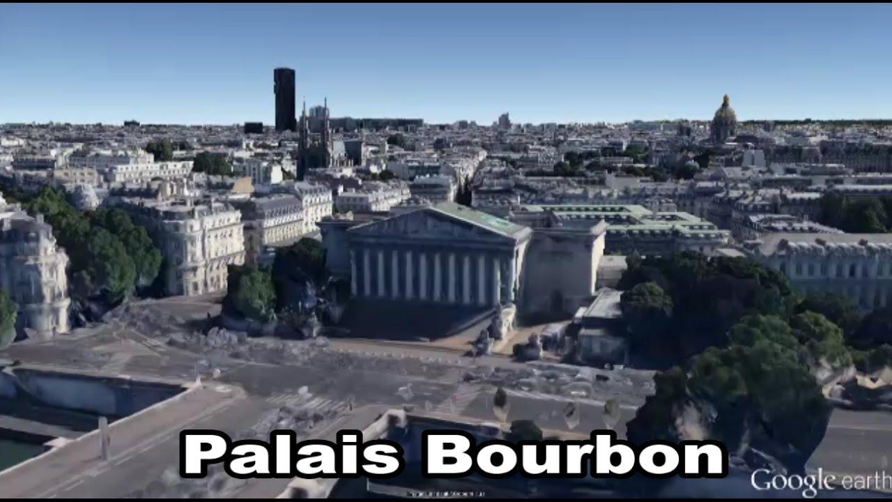 Palais bourbon paris le de france assembl e nationale camhf youtube - Hotel du palais bourbon ...